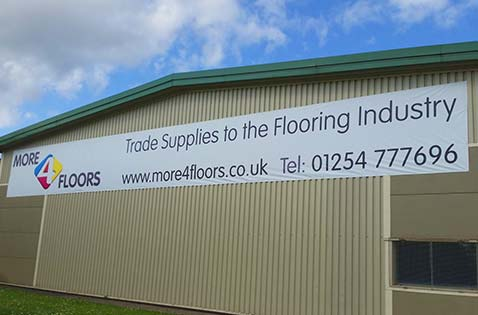 More4Floors Exterior Signage