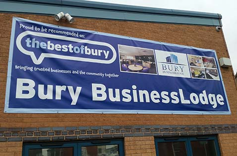 PVC Banner Printing Bury Manchester