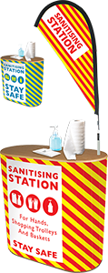 Sanitisation Stations Bury